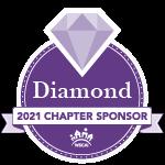 Diamond 2021 Chapter Sponsors Badge